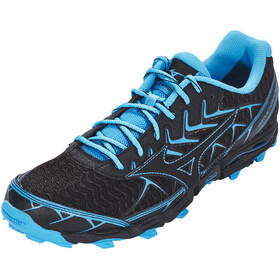 Mizuno Wave Hayate 4 Running Shoes Men black/black/blue jewel